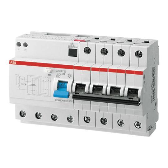 Автоматические выключатели дифференциального тока (диффавтоматы)