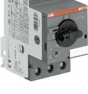 Аппараты управления электродвигателями ABB